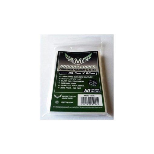 Mayday Prémium kártyavédő 63,5x88mm 50db/csomag