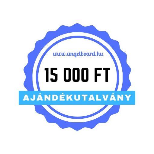 Ajándékutalvány 15 000 Ft értékben