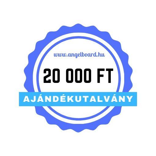 Ajándékutalvány 20 000 Ft értékben