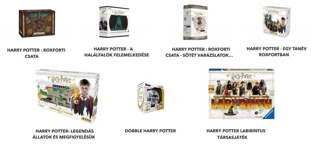 Harry Potter társasjátékok